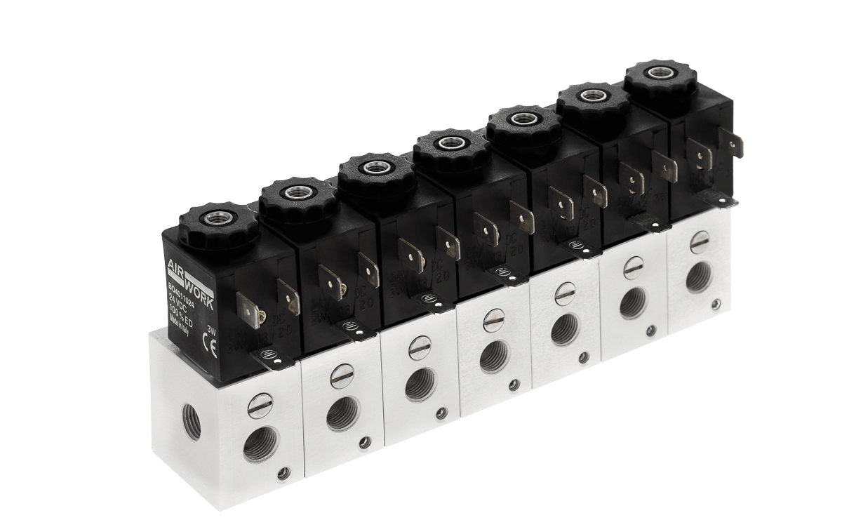 Modular Directly Solenoid Valves
