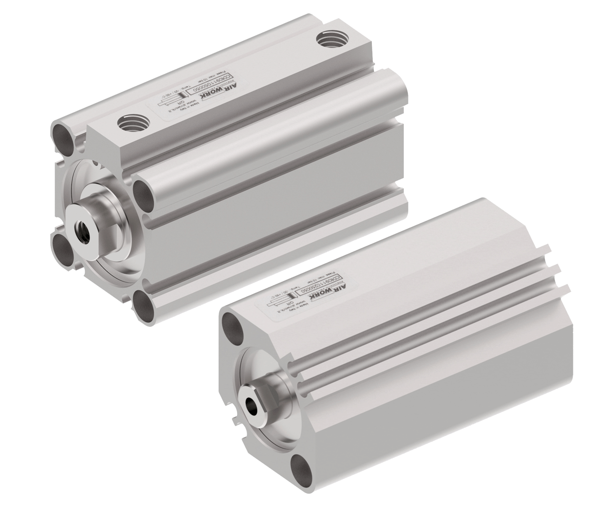 image showing short stroke pneumatic cylinders
