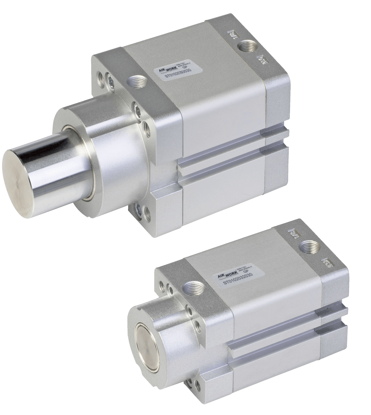 image showing a pneumatic stopper cylinder