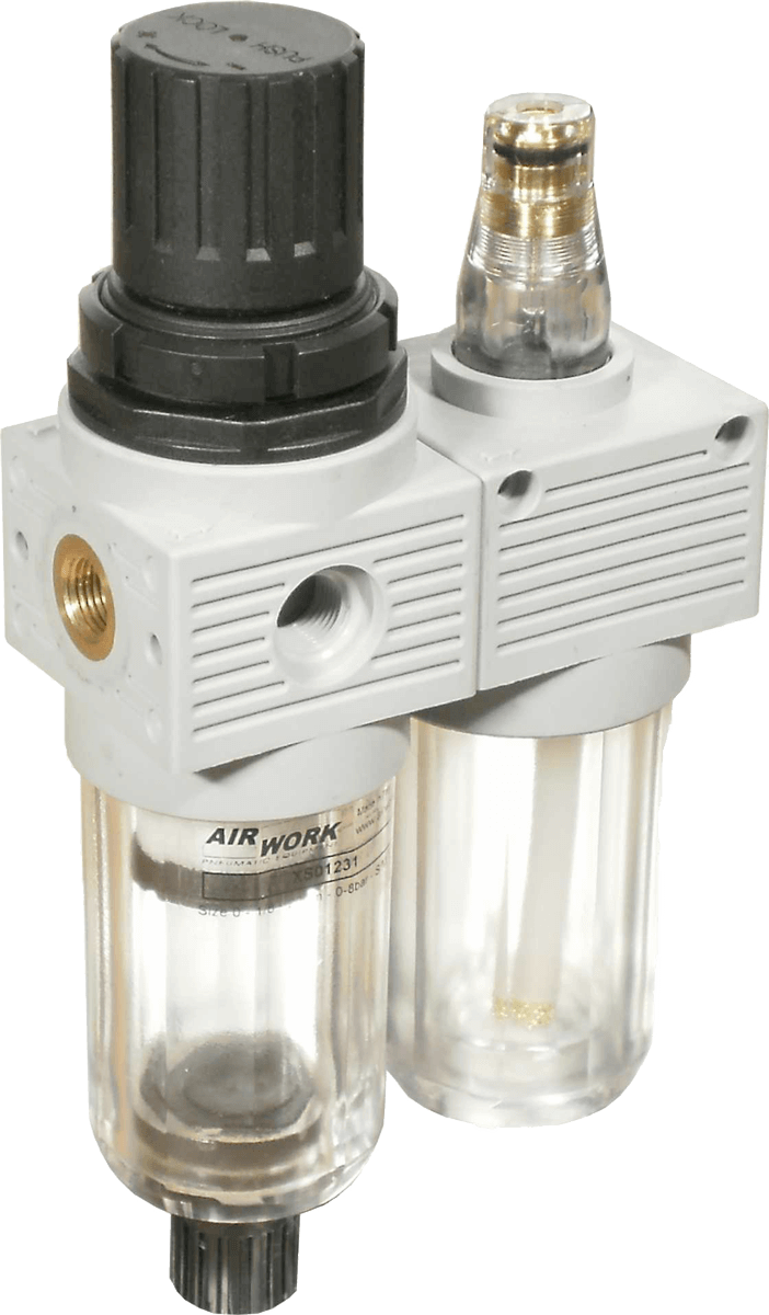 Filteregulator + Lubricator (FR+L) XS – MINI
