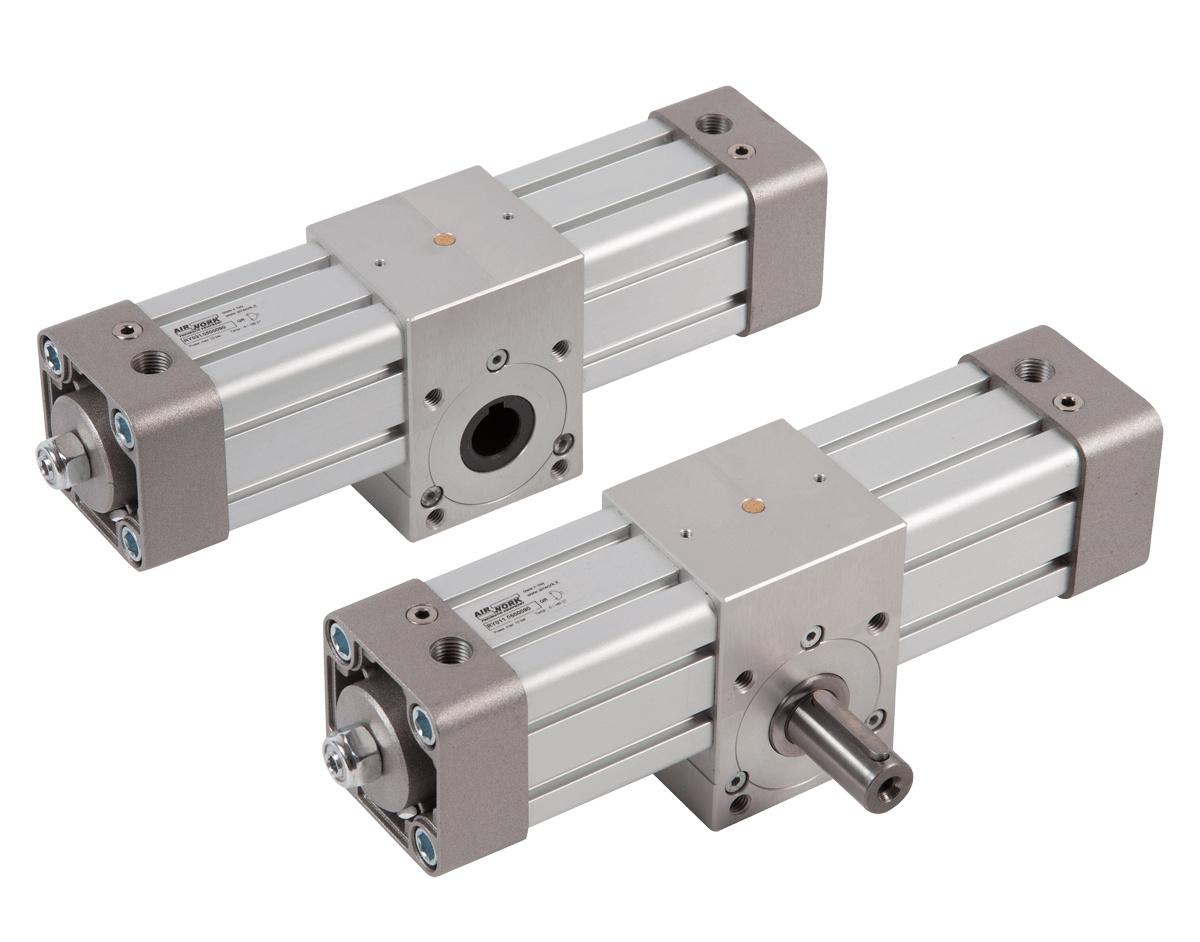 image showing pneumatic rotary cylinders