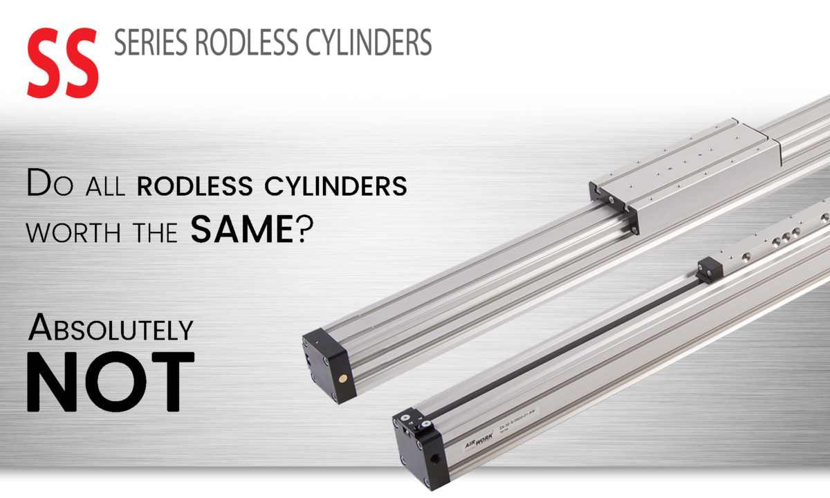 Rodless cylinders - SS series