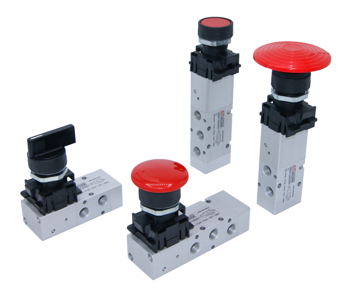 manual valves with integrated actuator